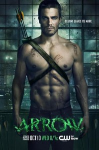 Stephen Amell, es el atractivo Arrow