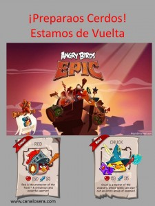 angry birds epic osera
