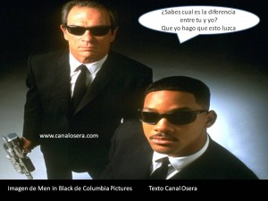 Frase de Men in Black en La Osera