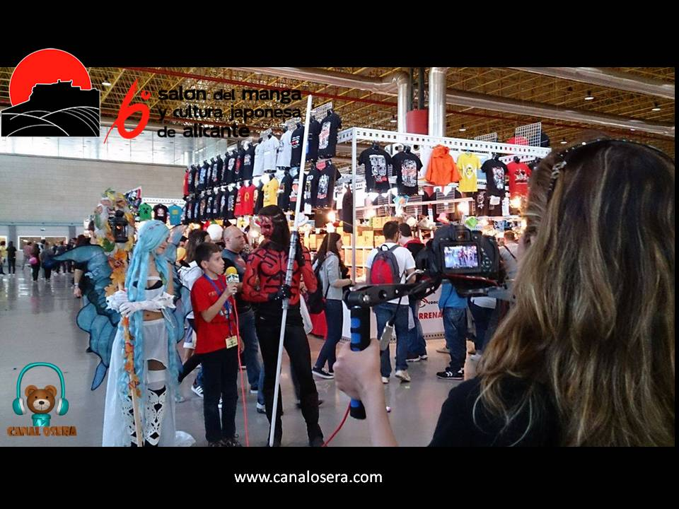 Osera TV En el Salon del Manga de Alicante 2016