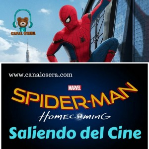 Spiderman Homecomming Saliendo del Cine