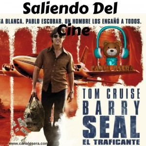 Barry Seal Saliendo del Cine